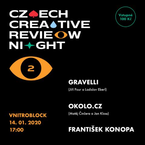 Czech Creative Review Night - vol. 2